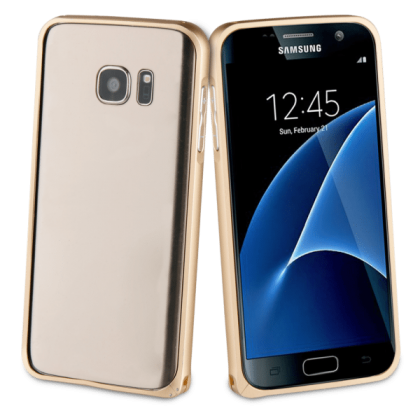 Muvit Bumpter Gold Samsung Galaxy S7
